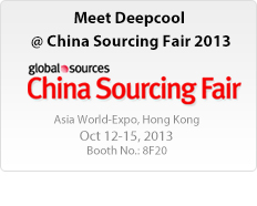 Meet Deepcool @ China Sourcing Fair 2013
